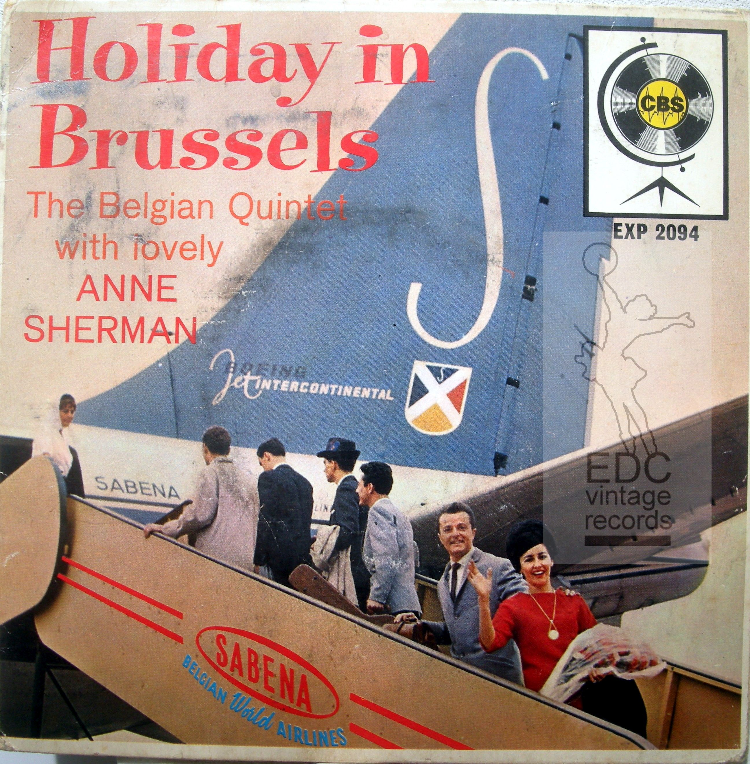 the belgian quintet -holiday in Brussels watermarked