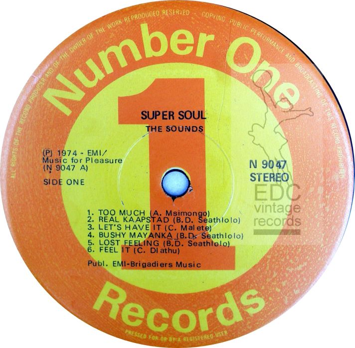 The Sounds super soul LP LABEL a -WATERMARKED