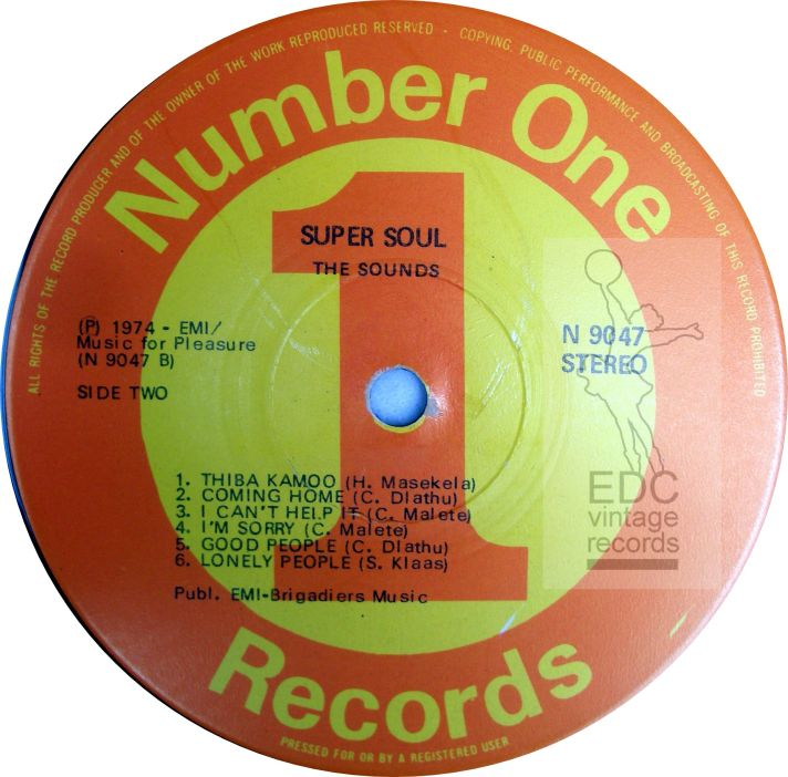 The Sounds super soul LP LABEL b -WATERMARKED