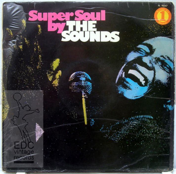 The Sounds super soul LP voor -WATERMARKED