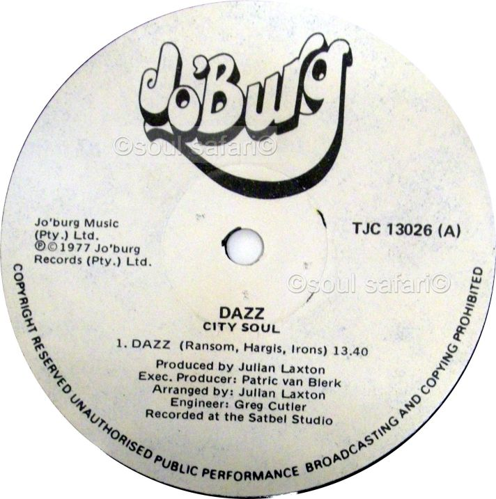 City Soul -Dazz label watermarked