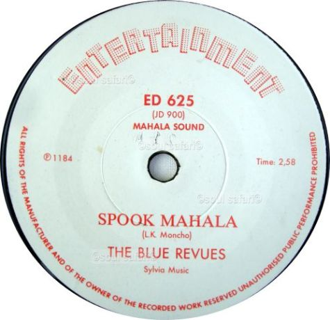 the blue revues -spook mahala gecomp