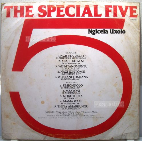 the special 5 cover back gecomp